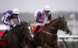 Laurens wins last year's Sun Chariot at Newmarket