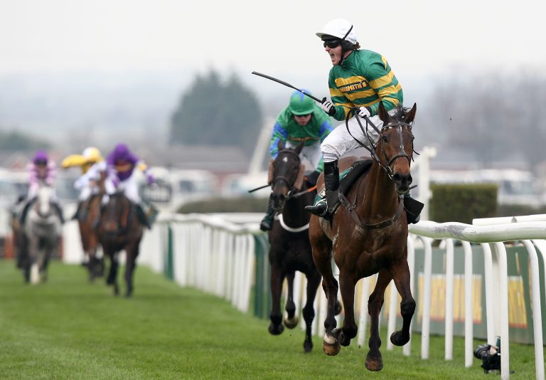 Don't Push It finally provided Tony McCoy with a first win in the race